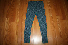 NWT Womens MARC NEW YORK Teal Jewel Combo Active Yoga Capris Size XS X-Small