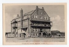 Académie St- Alphonse BAGOTVILLE Saguenay Quebec Canada 1930-40s PECO Postcard 3