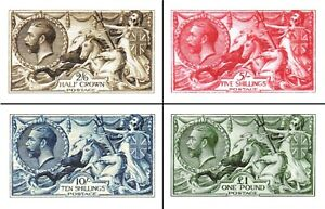 Great Britain.1913.King George V.(REPRODUCTION.COPY.REPLICA.) 4 BOOKLETS/20 PCs.