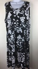 Karen Kane Floral Black/White Dress Size 3X