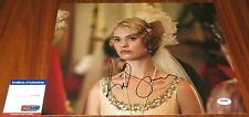 Lily James Signed 11x14 Downton Abbey Lady Rose MacClare Cinderella PSA/DNA
