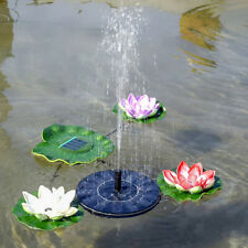 Solar Power Floating Brushless Water Pump Fountain Garden Pool Fountain Decor 32