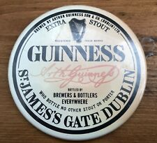 Rare Vintage Guinness Pocket Mirror Beer Mat Advertising Product Promotion