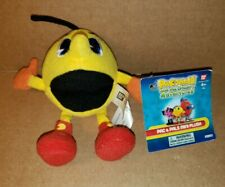 "PAC-MAN AND THE GHOSTLY ADVENTURES PAC & PALS MINI PLUSH 4"" NWT"