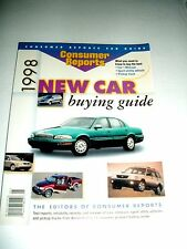1998 Consumer Reports New Car Buying Guide