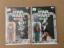 Star Wars, Vol 4. #16, Death Star Droid and #17, Walrus Man. 2018. Vgc.