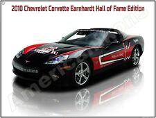 Absolute Mint! 2010 Chevrolet Corvette Dale Earnhardt Edition New Metal Sign