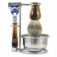 Executive Shaving 4 Pezzi Gillette Fusion Set Da Barba in Finto Horn