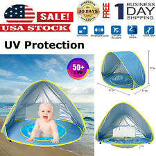 Baby Beach Sun Shelters Tent Pop Up Portable Shade Pool UV Protection For Infant