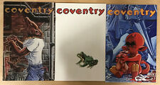 Coventry #1-3 Complete Set (1996) Comic Lot