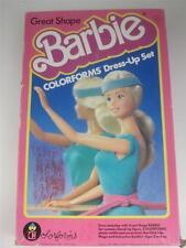 Vintage Barbie Great Shape Colorforms Dress Up Set 1985 Figure Outfits Accessory
