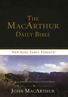 Macarthur Daily Bible : Read the Bible in One Year with Notes from John Macar...