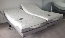 Motion Essential Electric Adjustable Bed with memory foam mattress Queen split