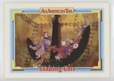 1991 Impel An American Tail: Fievel Goes West #131 Soaking Cats Card 0c4