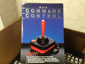 Wico Command Control Joystick for COMMODORE VIC-20 Computer - FRESH CASE - NEW