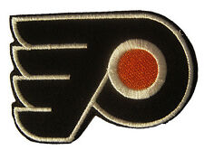 New NHL Philadelphia Flyers Logo embroidered iron on patch. 3 1/8 x 2 1/4 (IB18)
