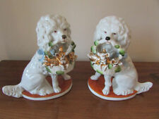 Unmarked Porcelain & China Dogs