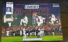 Houston Astros Combined No Hitter Poster SGA and No Hitter Game Ticket Stub