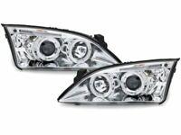 NUEVO Faros para Ford MONDEO MK3 III 3 00-07 Angel Eyes Cromo IT LPFO34EL XINO I