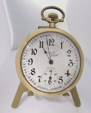 "Vintage Illinois ""Santa Fe Special"" Open Face Pocket Watch ~ Model 9"