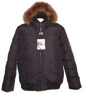Pajar Canada WES Black Men's Duck DOWN Fox Fur Hood Power Heat Jacket Sz XL $555