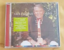 GLEN CAMPBELL - ADIOS. FAREWELL ALBUM/GREATEST HITS CD 2017 NEW & SEALED