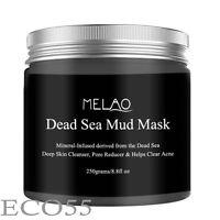 Dead Sea Facial & Body Mud Mask Anti aging Acne Pore Minimizer muscle Pain Detox