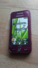 Samsung GT - S5230 unlocked fully functional CHERRY