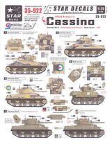 Star Decals 1/35 ALLIED ARMOR IN CASSINO Sherman Mk.III & M5A1 Stuart