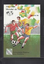 Brazil 1986 World Cup Soccer Sc 2042  Complete  Mint Never Hinged