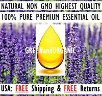 PREMIUM Organic Lavender Essential Oil | 10ml | From France | 100% Pure Natural