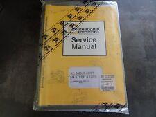 International Transmissions JCB S55 S80 S55/PT Steer Axles Service Manual