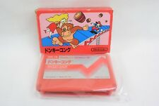 DONKEY KONG No Instruction Item Ref/2650 Famicom Nintendo Japan Boxed Game fc