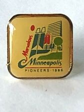 Vintage Marvelous Minneapolis Telephone Pioneers of America Pin 1986