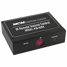 MCM CUSTOM AUDIO 50-8394 LINE LEVEL VOLUME CONTROL with IR REMOTE - VERY POPULAR