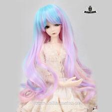 "9-10"" 1/3 BJD or 70cm Dollfie DREAM Luts AOD Dod SOOM DZ WIG Mix color Hair #124"