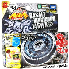 TAKARA TOMY BEYBLADE METAL FUSION BB-104 BASALT HOROGIUM 145WD and LAUNCHER NEW