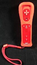 Nintendo Wii - original Remote Motion PLUS INSIDE 1X Fernbedienung #rot