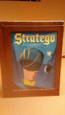 Stratego Vintage Board Game Collection Wooden Book Shelf Box 2005