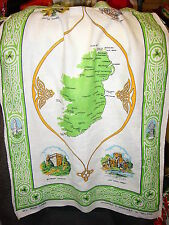"""""""""""Ireland - Apron Made From Linen Tea Towel"""""""" - St. Patrick'S Day"""