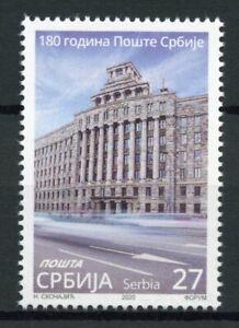 Serbia Architecture Stamps 2020 MNH Post 180th Anniv Postal Services 1v Set