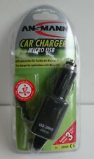 CHARGEUR POUR VOITURE MICRO USB CAR CHARGER NEUF NEW  ANSMANN POUR BOSCH