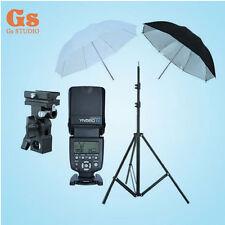 "Yongnuo YN-560 IV Flash Speedlite + Light Stand + Bracket B + 2pcs 33"" Umbrella"
