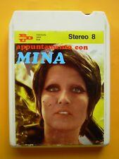 Appuntamento con MIna Stereo 8 PDU  RCA Italy 1968 - 8 Track Stereo Tape Rare