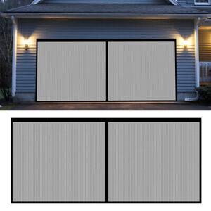 Double Garage Door Screen Mesh Screen Insect Bug Mesh 13X6.5ft