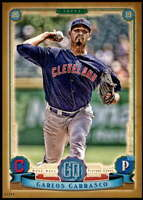 Carlos Carrasco 2019 Topps Gypsy Queen 5x7 Gold #5 /10 Indians