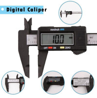 6'' 150mm Lcd Digital Vernier Caliper Stainless Steel Micrometer Electronic Tool