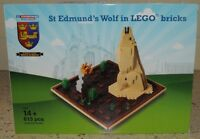 Lego Limited Edition St.Edmundsbury Cathedral certified wolf rare 1 of 500