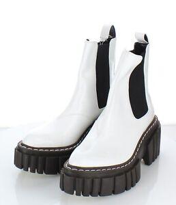 08-23 NEW $975 Women's Sz 36.5 M Stella McCartney Emilie Platform Chelsea Boots