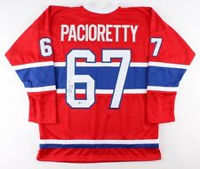 Max Pacioretty Signed Canadiens Jersey (Beckett COA) Montreal All Star Left Wing